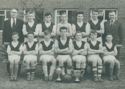 Football Team 1959-1960 (Company).