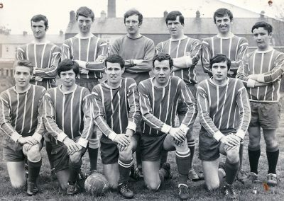 1st Portadown Company B.B. Old Boys' Football Team - Belfast Churches League Winners 1968.