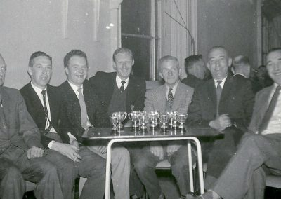 Billiards/snooker team - early 1960's.