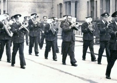 Old Boys' Silver Band 1950.