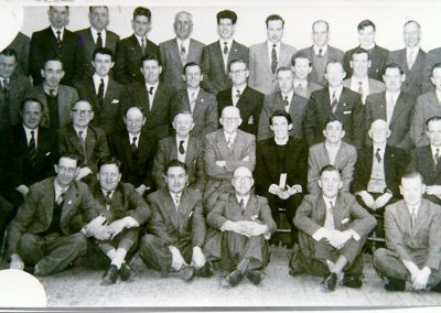 Old Boys' Bible Class 1950's.