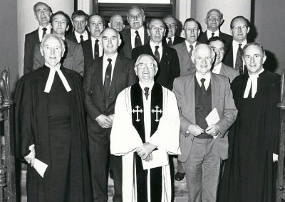 50th Anniversary Service of the Old Boys' Association 1989 (Presentation of new doors to Thomas Street Methodist Church).