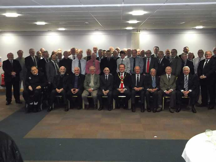 75th Anniversary 1st Portadown Company Boys Brigade Old Boys Association Civic reception held in Craigavon Civic Centre on Thursday 5th February 2015.