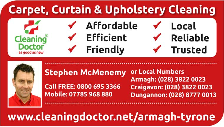 Stephen McMenemy - Cleaning Doctor 07785 968 880
