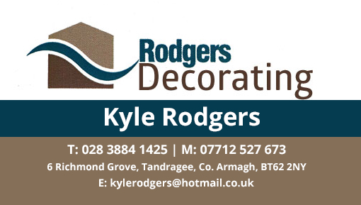 Kyle Rodgers Decorating T: 028 3884 1425 - M: 07712 527 673