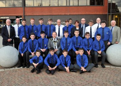7th Portadown BB Civic Reception