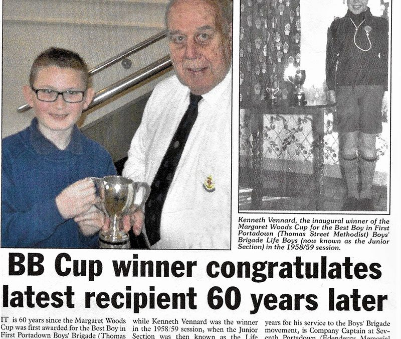 BB Cup winner congratulates latest recipient 60 years later